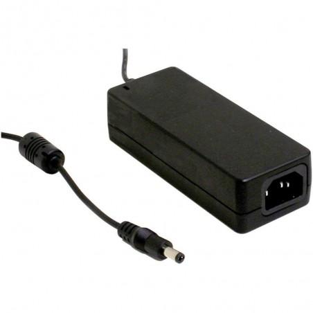 Medico AC/DC netadapter DC12V 5A, -30-60°, ANSI/AAMI ES60601-1, TUV EN 60601-1, 60601-1-11
