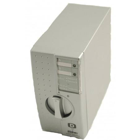 2-ports manuel omskifter til DVI