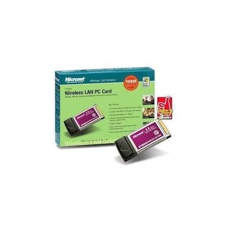 Restlager: 54 mbit PCMCIA trådløs netkort