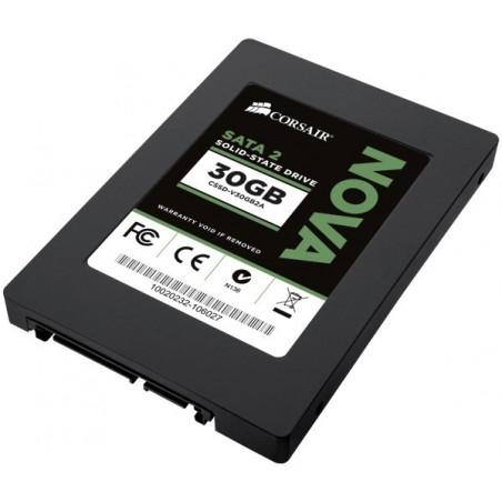 Restlager: Solid State Disk, 2½ SATA, 30GB