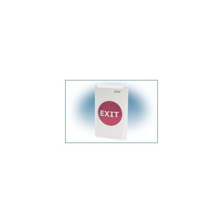 Restlager: EXIT knap med plastik front