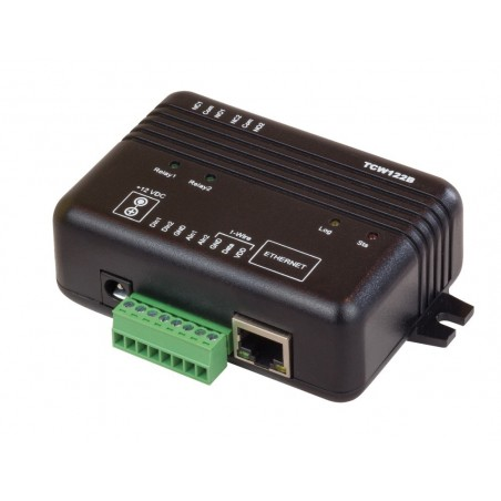 Modul til fjernkontrol via Internet/LAN, 2 x DI, 2 x relæ udgang, pair med andet modul