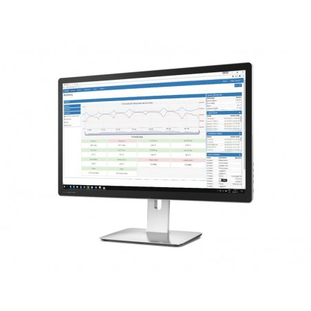 Teracom monitor- og datalogger program, licens til 11 - 100 enheder, Win7/8/10