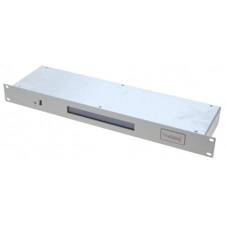 Atomur, GPS styret tidsserver til netværk. Dual-LAN NTP Server med TCXO