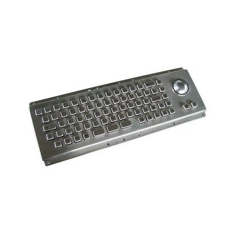 Restlager: Industri tastatur metal, IP65, USB, svensk tegnsæt