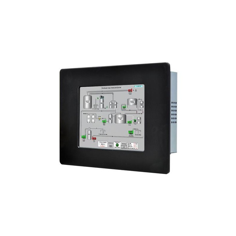"12"" IP65 Panel mount LCD touch monitor, transflektiv, VGA"