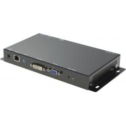 KVM Extender - transmitter - DVI, VGA, USB, LAN