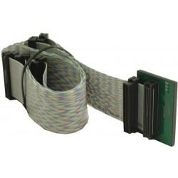 SCSI fladkabel Mini DB68 han, 6 stik, 1,25 m, parsnoet