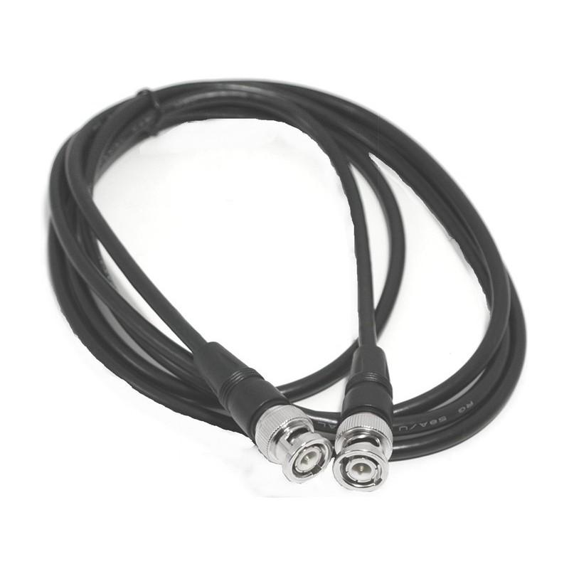RG59, BNC - Composite/HD SDI kabler til kamera overvågning, 75 ohm, sort, 2,0 m