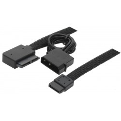 Slim-SATA til SATA adapterkabel