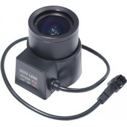 Objektiv, 4,0 - 12,0 mm, automatisk blænde