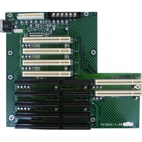 Buskort 3x ISA, 4x PCI, 2x ISA-PCI