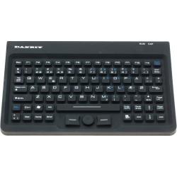 Hygiejnisk IP67 tæt støv og vandresistent USB tastatur med trackpoint