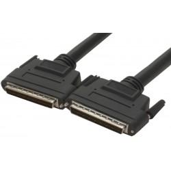 WIDE SCSI LVD kabel 5 meter Mini DB68 han – Mini DB68 han