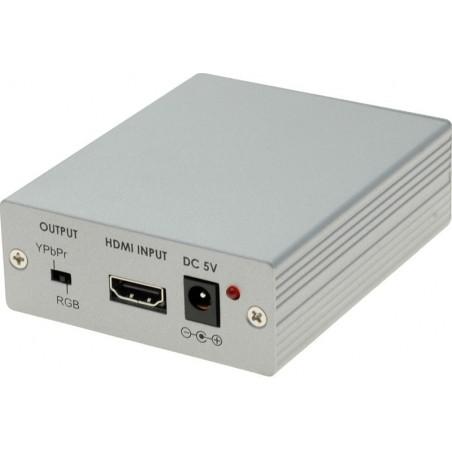 HDMI til VGA + component konverter