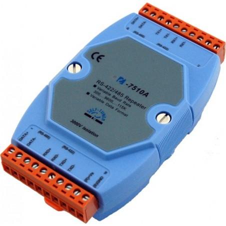 Optoisolereret RS422 / RS485 repeater. Omsætter også fra 422 / 485 v.v.