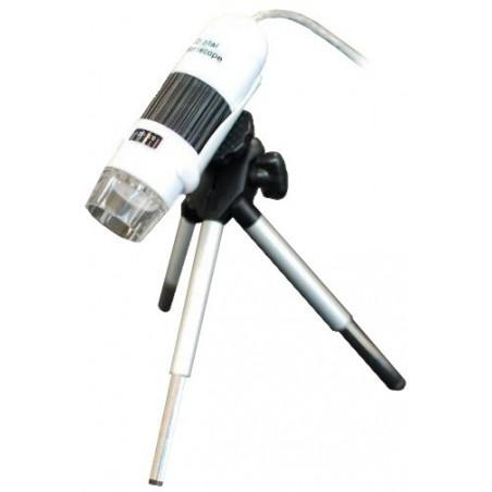 1.3 megapixel USB mikroskop med stativ