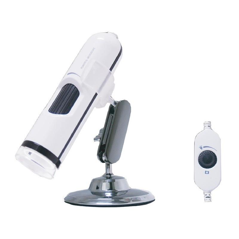 1.3 Megapixel mikroskop med autofokus og op til 200x zoom