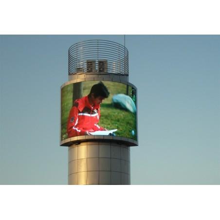 Udendørs LED display-system - kundespecifik