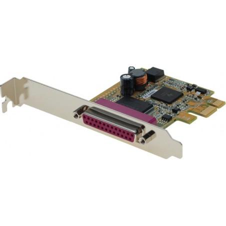 1 parallelport, PCI Express, høj- og lavprofil bøjle medfølger