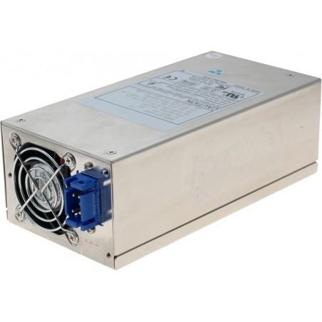 -48 VDC, 300 Watt ATX strømforsyning, med 12V stik til P4, 2U, D2U-6300F