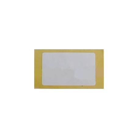 UHF RFID TAG, 865MHz, passiv, selvklæbende papir, 0-10m afh. af antenne