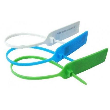 UHF RFID tag, strips med skilt i hvid eller grøn
