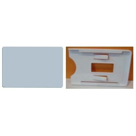 UHF Tag, 865MHz, passiv, ISO-kort, hvid