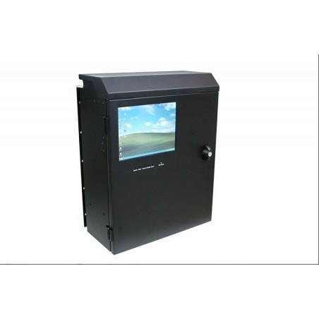 4U vægmonteret PC-kabinet med VGA