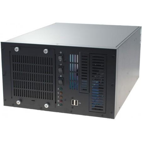 4U 6 slot PC-kabinet til vægmontage til PICMG back plane