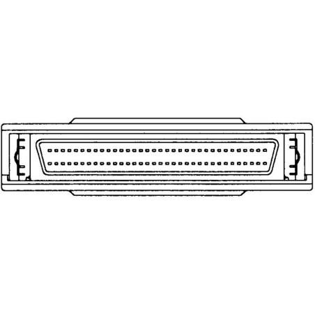 Ekstern SCSI terminator Mini, DB68 han-hun, gennemgang