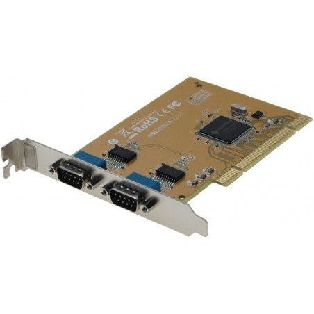 2 RS232 serielle porte til PCI