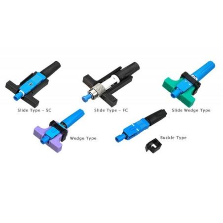 Quick connector til FC fiberkabel