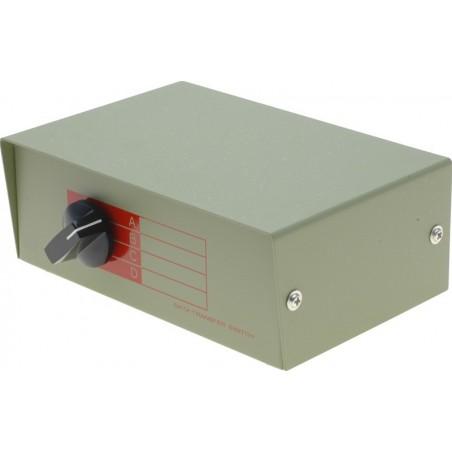 4 ports manuel omskifterboks til 4 x DB25 enheder