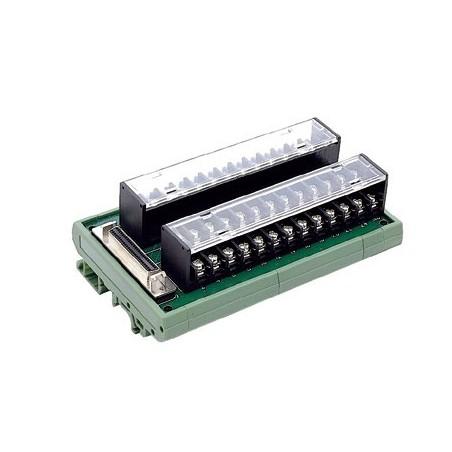 Adlink DIN-50S-01. Terminalkort med 50 skrueterminaler
