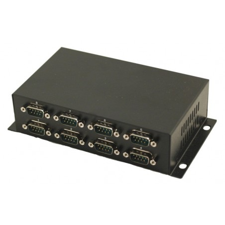 USB til 8 x RS232 porte - USB kabel medfølger