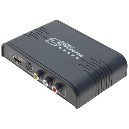 Konverter fra Composite / S-VHS til HDMI