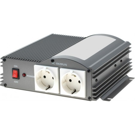 Omformer 12VDC til 230VAC/150W - Ægte sinus