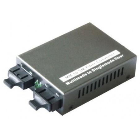 Multi Mode til Single Mode 100Mbit Fiber konverter og visa versa