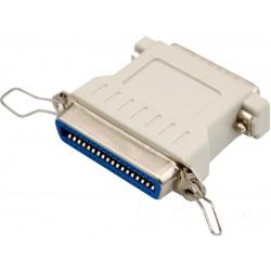 Centronics 36 til DB25 konverter. Tilpasningsstik til printere