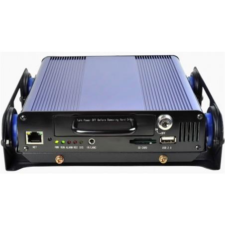 2 kanals mobil videooptager til analoge kameraer - DVR, vibrationsdæmper, egnet til køretøjer.