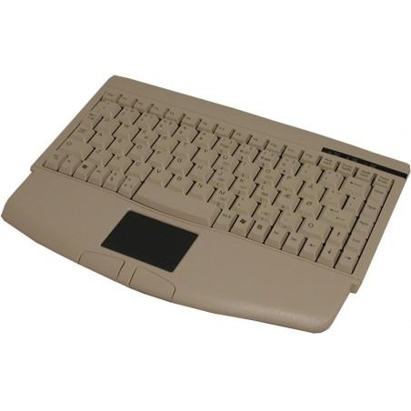 Standard ministastatur i beige, med touchpad til PS2