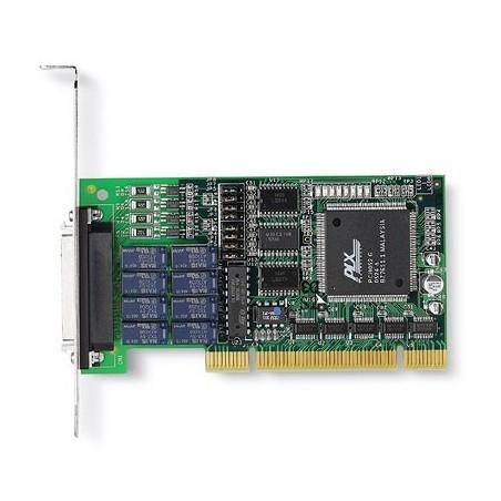 ADLINK LPCI-7250. 8 kanalers relæ output, 8 isolerede digitale input, PCI, Low Profile