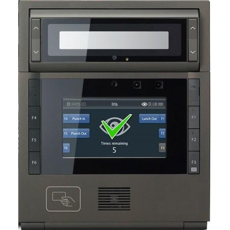 Adgangs-og tidskontrol med irisscanner og RFID