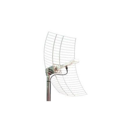 19 dBi 2,4GHz Parabol antenne, N hun, mastebeslag