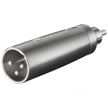 XLR adapter 3-pin XLR jack hun – RCA jack hun