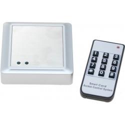 Frittstående adgangskontroll. Adgangskontroll med tastatur, RFID og fjern