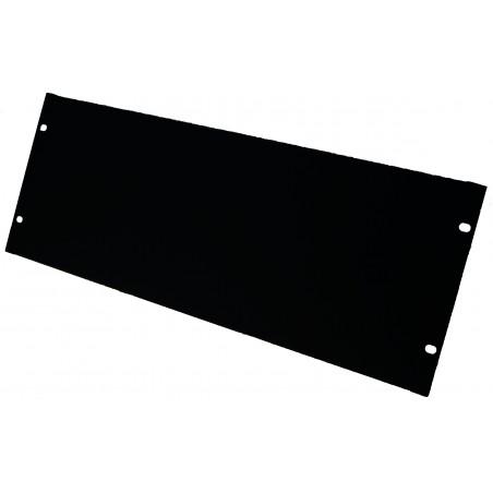 """4U blindplade, sort. Til 19"""" rackskab"""