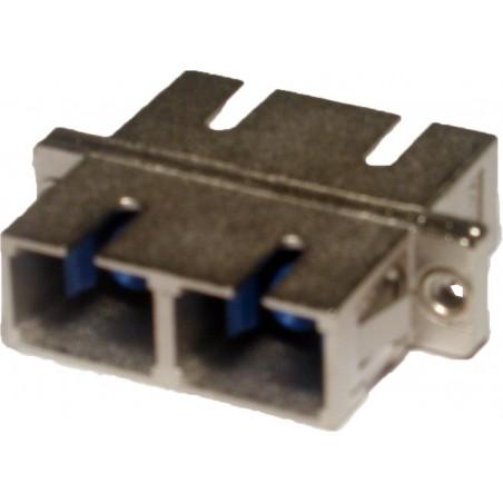 Samlestik i metalhus til SC fiberkabel