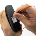 Fiberstikrenser. Renser fiberstik for støv og snavs inden brug